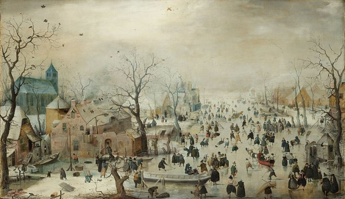 Hendrick Avercamp Winterlandschap